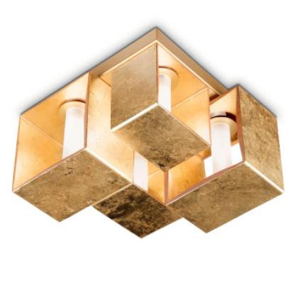 Светильник потолочный Panzeri Domino P9021-9 gold