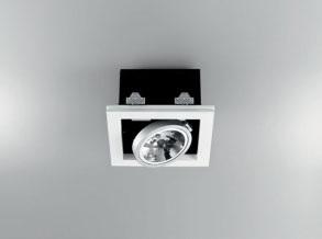 Светильник встраиваемый Panzeri XGQ1034 bianco