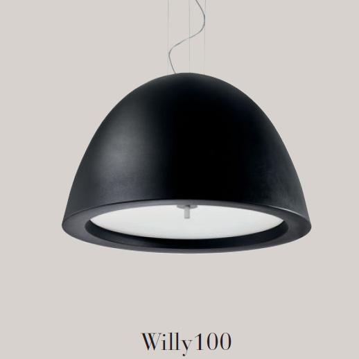 Светильник потолочный Panzeri Willy L7633.100 black