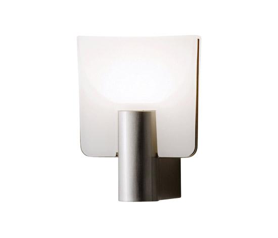 Светильник настенный Prandina Micron W1 crome/opal bianco