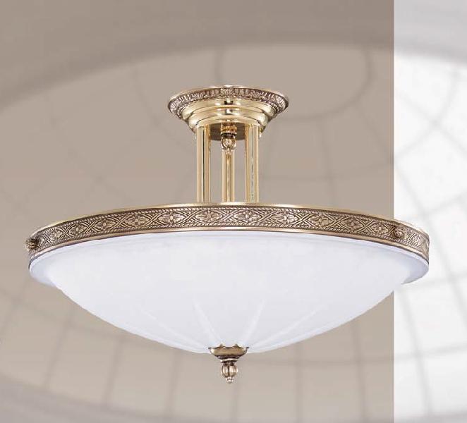 Светильник потолочный Riperlamp 242H4 old gold/satin white (AA)