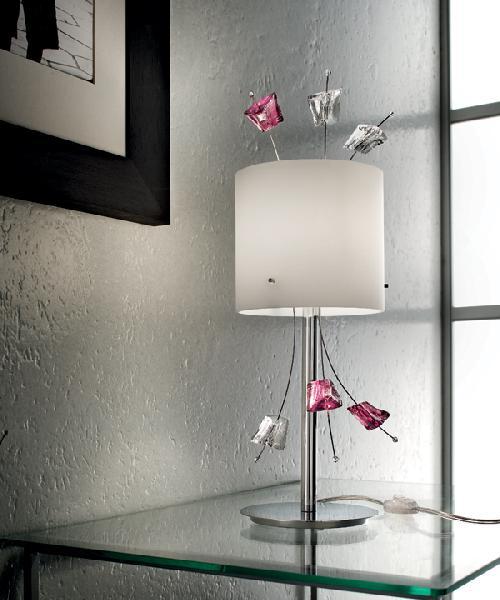 Светильник настольный Sil-Lux Carrara LT 1/255 01/07