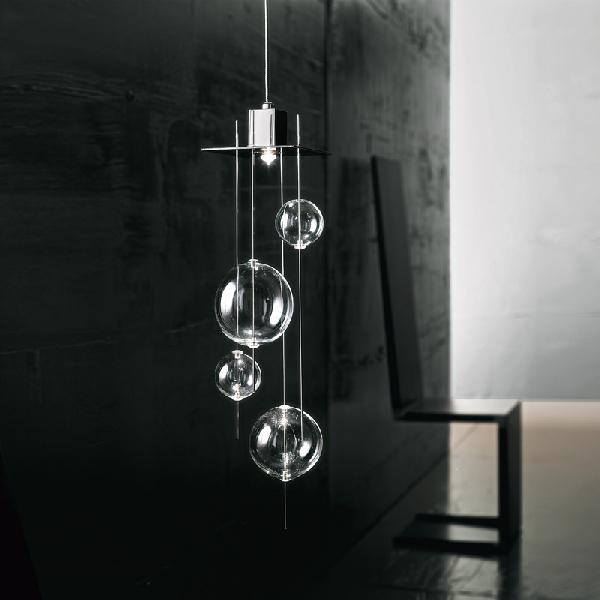 Светильник потолочный Sil-LuxSP 7/236 10/36 (cristallo/polished steel)