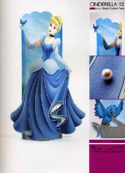 Светильникнапольно-настенный Slamp Princess Cinderella large tube (DYLT036)