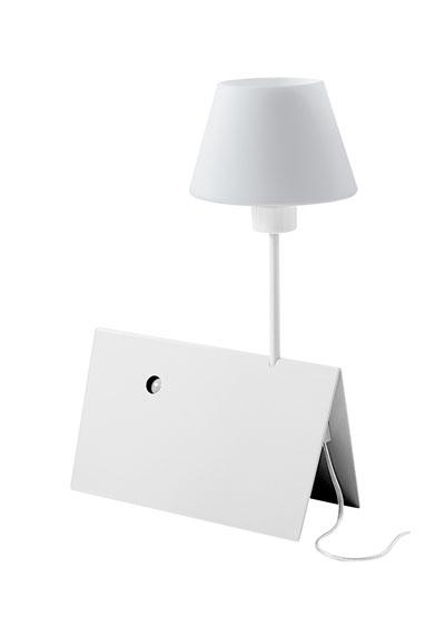 Светильник настольный Studio Italia Design Buonanotte TA chrome/bianco (79002)