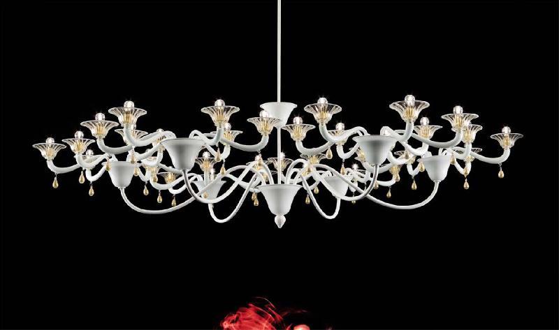 Светильник потолочный Vintage Infinity LA 1 bianco/bianco oro (LAINF9LCLA)