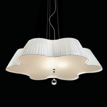 Светильник потолочный Vintage Daisy SO60 cristllo satinato/bianco