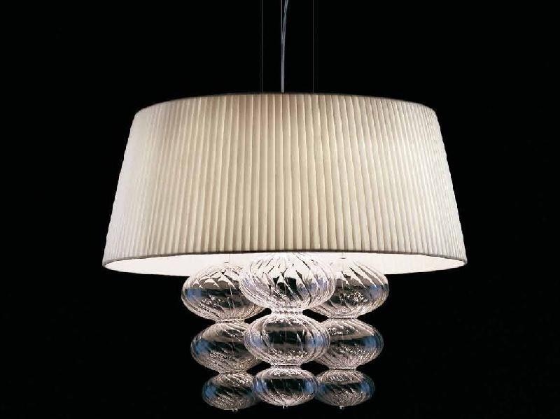 Светильник подвесной Vintage Musa SO60 bianco/cromo