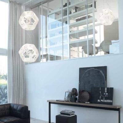 Светильник потолочный VistosiEXPO. Aurea Sp 11 bianco cromo ALO