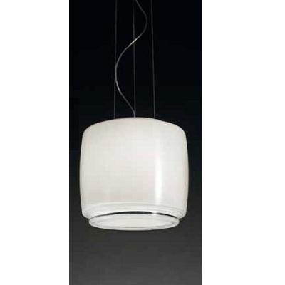 Светильник потолочный VistosiEXPO. Bot susp. 35 bianco cristal bianco E27