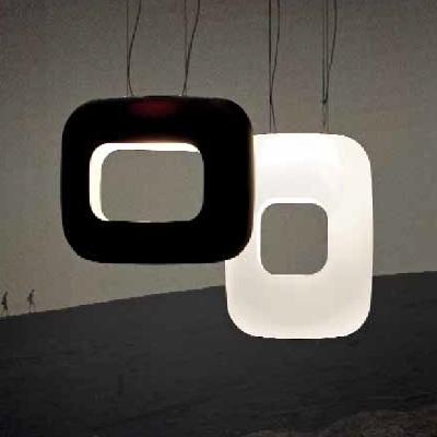 Светильник потолочный VistosiEXPO. Dos sups R bianco nichel