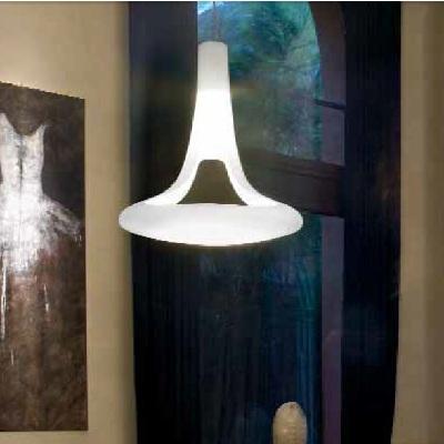 Светильник потолочный VistosiEXPO. Ferea susp. D1 bianco/bianco E27