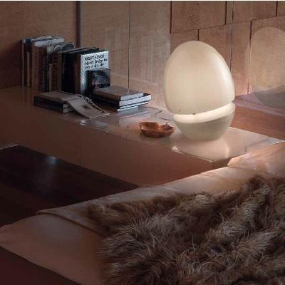 Светильник настольный Vistosi EXPO. Jo tavol sabbia cromo E27
