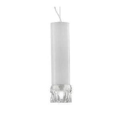 Светильник потолочный VistosiEXPO. Smoking susp. Picola bianco cristal nichel E27