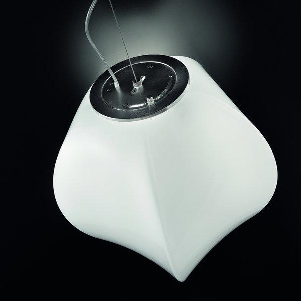Светильник подвесной VistosiPENTA SOSPE BIANCO NICHEL E27