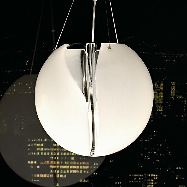 Светильник подвесной VistosiPOCSOSPE 45CRISTALL BIANCONICHEL E27