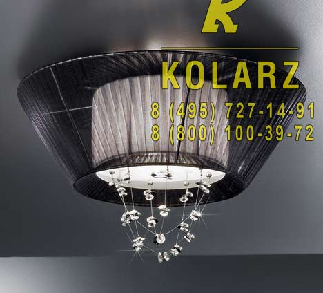 потолочный светильник Kolarz 0337.13S.5.WBk.F3