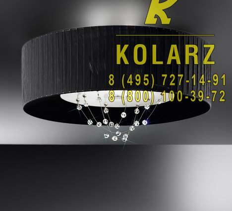 потолочный светильник Kolarz 0338.12.5.Bk.C3