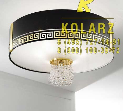 потолочный светильник Kolarz 0345.16.3.Ce.Bk.KpT