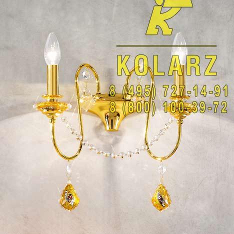 настенный светильник Kolarz 0380.62.3.SpT.Ki.Au