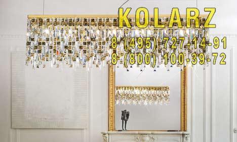 люстра Kolarz 1314.87L.3.P1.KpTGn