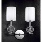 Настенный светильник Kolarz LARA FLO.1095/A2.02.T-BL.CR-T