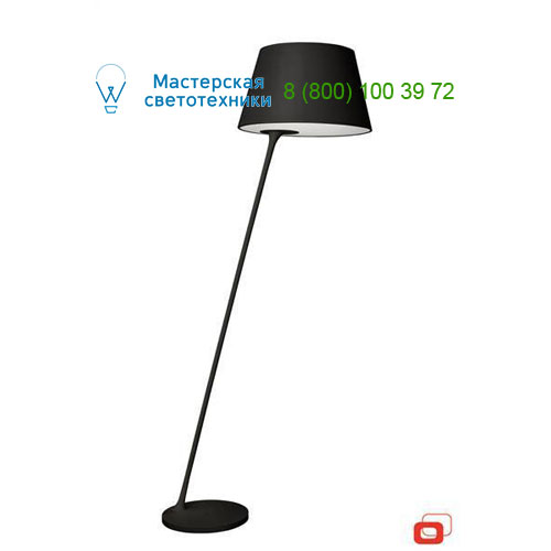 37363/30/LI Lirio Posada floor lamp Black торшер