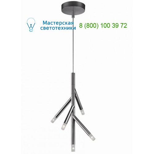 4075711LI Lirio Branches 5x5W Chrome подвесной светильник