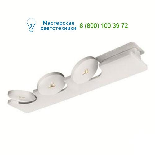 4076431LI Lirio Monete ceiling 3x7.5W White накладной светильник