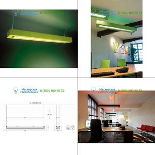1110315501B Dark D-Squeeze D-squeeze 1x54W Dimmable White подвесной светильник