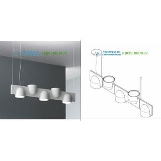 4268GC/5DOWN/UP Fontana Arte Igloo 5 (3 DOWN/2 UP) Light grey подвесной светильник