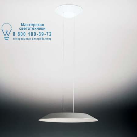 Artemide 0319010A подвесной светильник FLOAT SOSPENSIONE circolare бело-серый