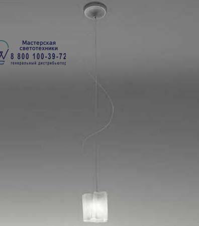 0388020A Artemide LOGICO SOSPENSIONE NANO singola белый глянцевый