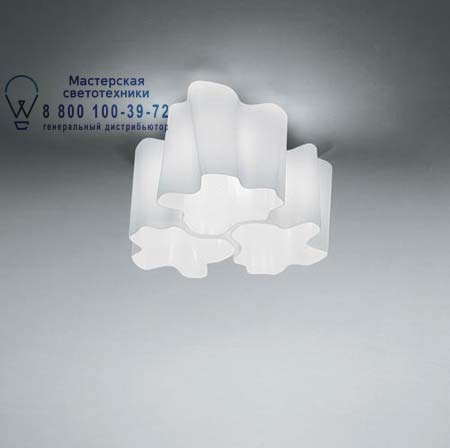 Artemide LOGICO SOFFITTO 3x120° белый глянцевый 0458020A