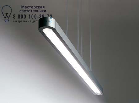 Artemide 0595020A TALO SOSPENSIONE 54W серый без диммера