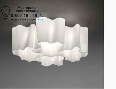 LOGICO SOFFITTO MINI 4x90° белый глянцевый, потолочный светильник Artemide 0695020A