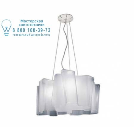 0698020A Artemide LOGICO SOSPENSIONE MINI 3x120° белый глянцевый