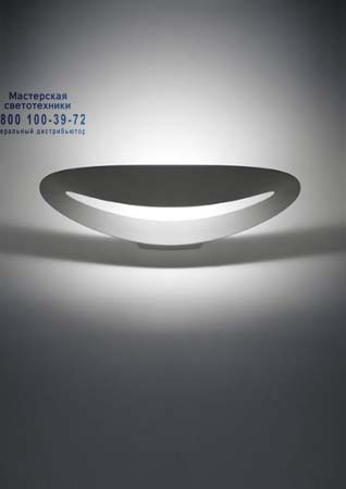 MESMERI HALO матовый хром, бра Artemide 0916040A