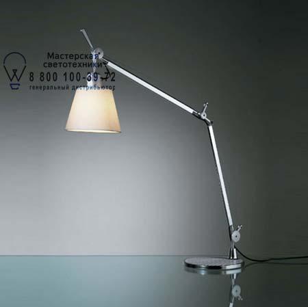 Artemide 0947020A A004030 настольная лампа TOLOMEO BASCULANTE серый, база - алюминий