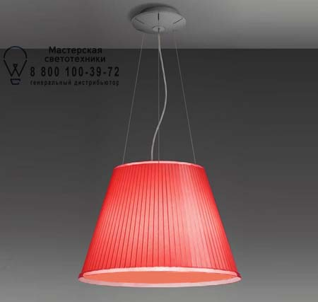 Artemide 1125040A CHOOSE MEGA SOSPENSIONE люмин., красный