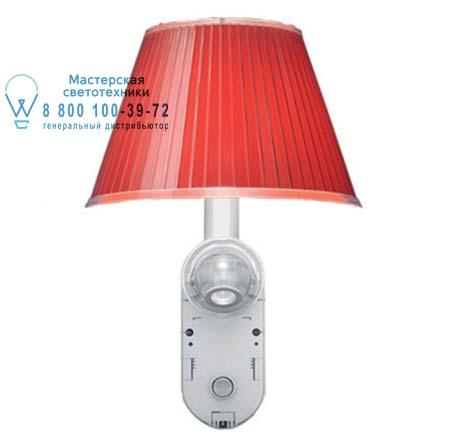Artemide 1141140A бра CHOOSE WALL + LED красный полипропилен