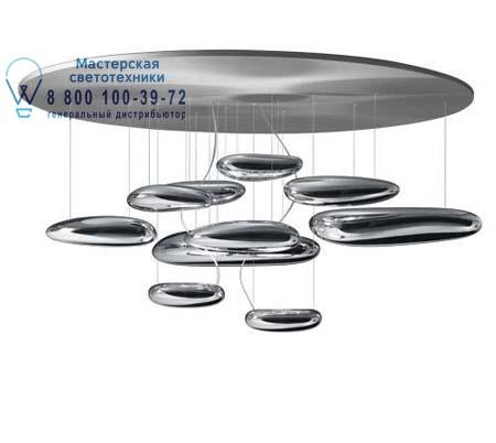 1366010A Artemide MERCURY LED SOFFITTO полированный хром