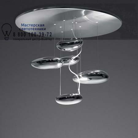Artemide 1476010A MERCURY MINI SOFFITTO LED из нержавеющей стали