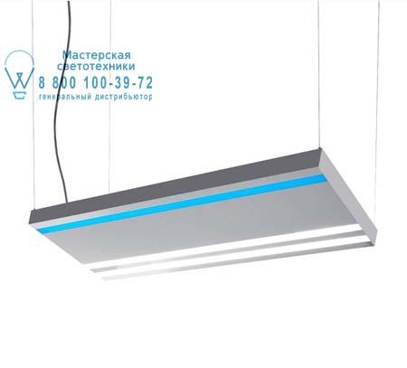 EUTOPIA зеркальный светильник с полосами синего и белого цвета, подвесной светильник Artemide 15