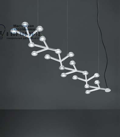 Artemide 1578010A подвесной светильник LED NET SOSPENSIONE LINEARE глянцевый