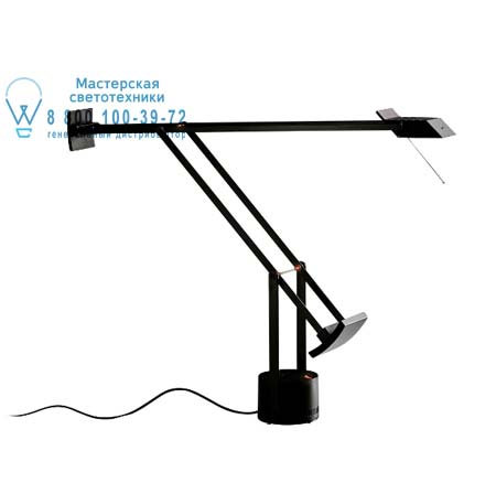 TIZIO серый алюминий, настольная лампа Artemide A009050