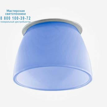 TILOS 150 INCASSO dicroico синий, встраиваемый светильник Artemide A041310