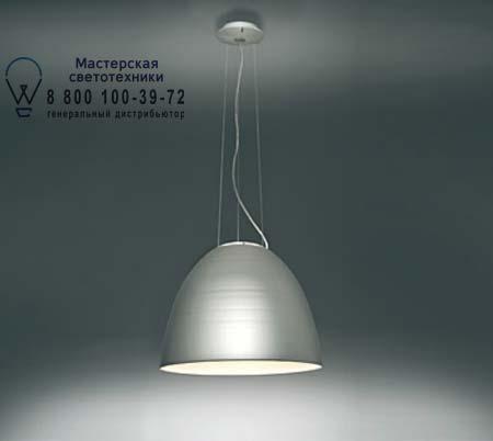 Artemide A240310 A249600 подвесной светильник NUR FLUO алюминий, противоослепляющий
