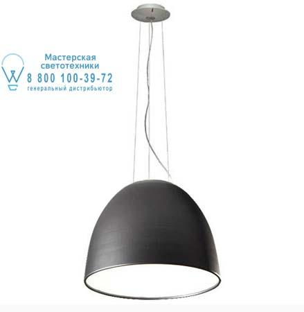 Artemide A240600 A249400 подвесной светильник NUR HALO серый антрацит, противоослепляющий