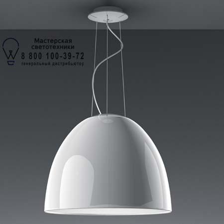 NUR GLOSS FLUO глянцевый белый, подвесной светильник Artemide A242300